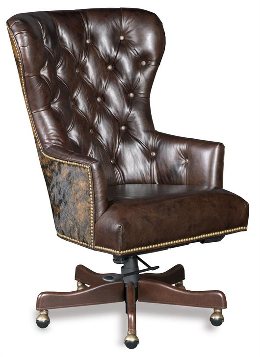 Leather Office Chair Katherine EC448-087 Hooker