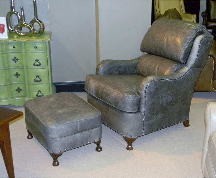 American Heritage Lilly Chair and Ottoman