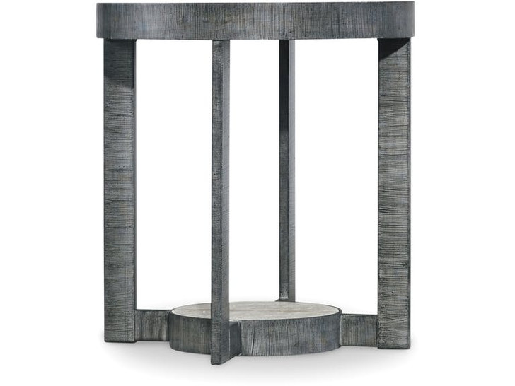 Hooker Furniture Living Room Mill Valley Round End Table