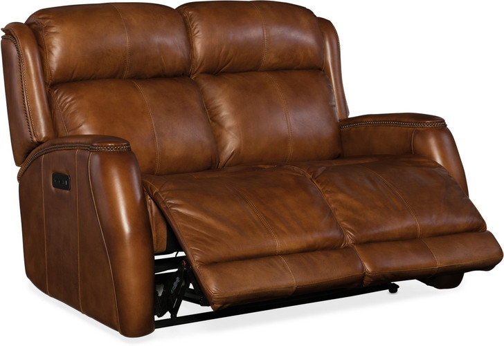 Hooker-SS426-P2-085 Emerson Power Head/Seat Recliner Loveseat