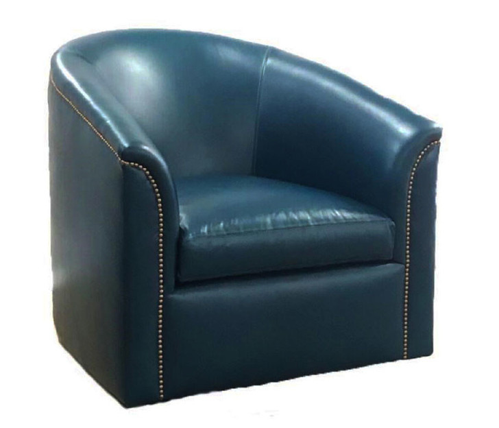 American Heritage Cabbage Swivel Chair