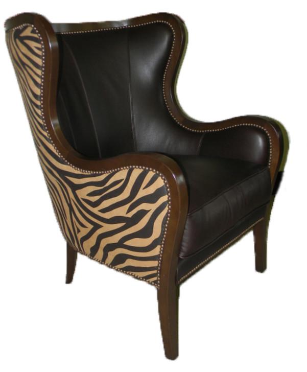 American Heritage Zebra Chair-