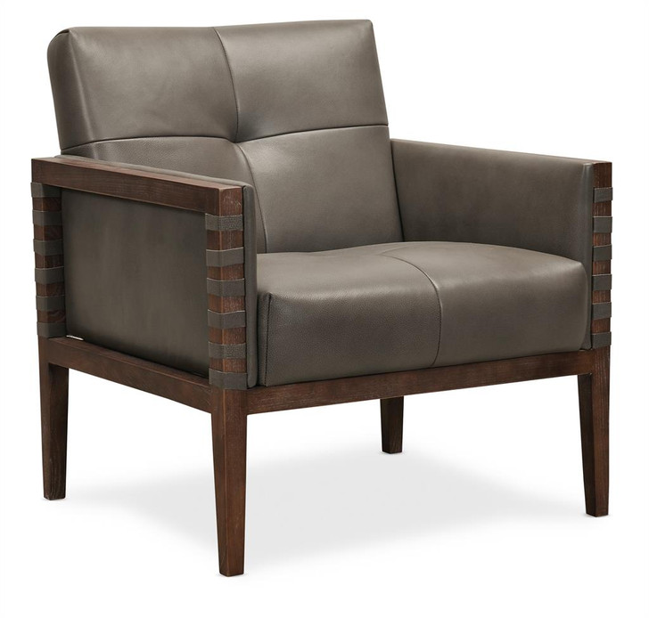 Hooker-CC401-095 Carverdale Leather Accent Chair