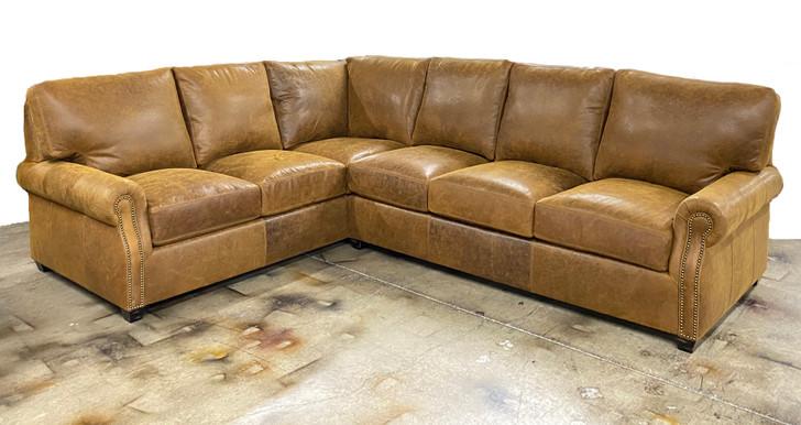 Burnham Sycamore leather shown