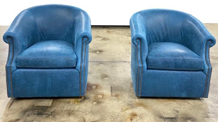 American Heritage Ariana Barrel Swivel Chair-Save 15%