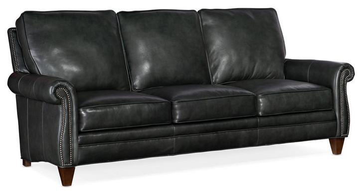 Bradington-Young 579 Reddish Sofa Leather