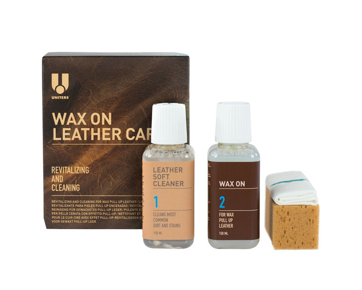 Leather Wax On Care Kit for Pull Up leathers-Ships Free