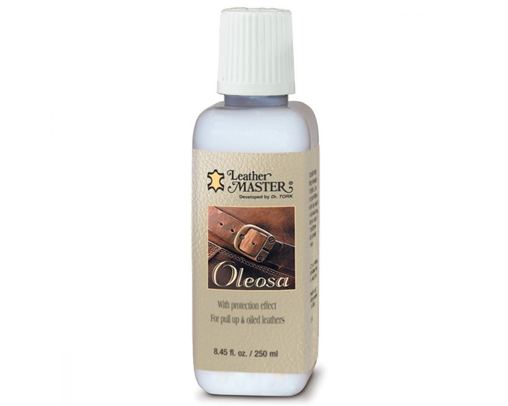 Leather Oleosa Cream Pull Up Leathers-Ships Free!