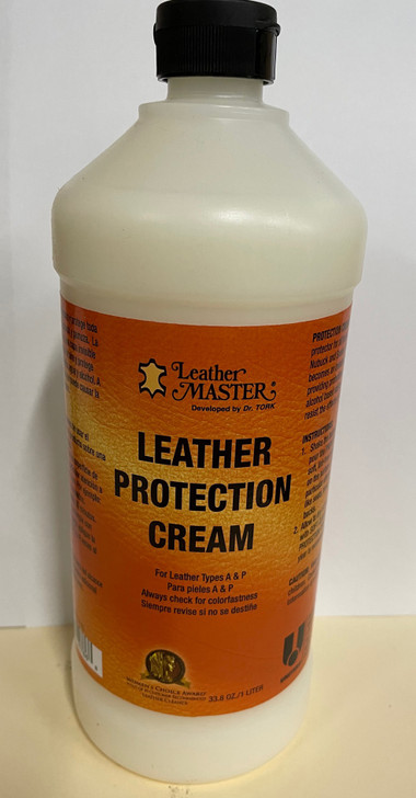 Leather Protection Cream 1 liter -Ships Free!