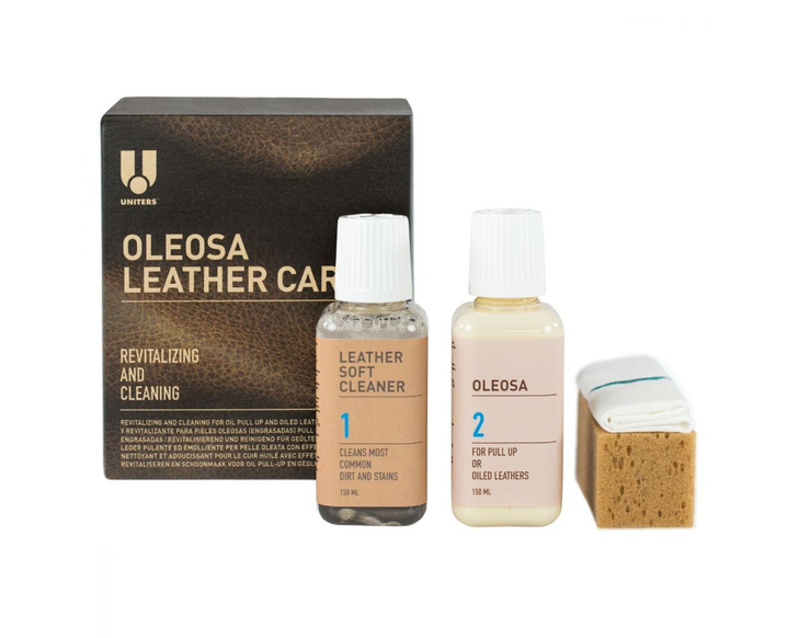 Leather Oleosa Care Kit for Pull Up leathers-Ships Free