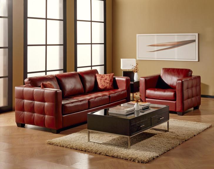 Palliser 77558-04 Barrett Leather Ottoman