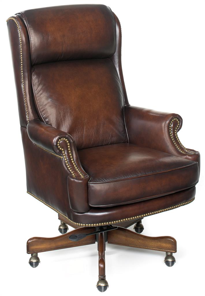 Hooker Office Chair Furniture Ec293 Hooker Furniture Desk Chairs By Leather Furniture Shoppes