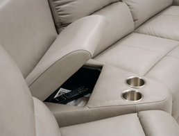 Palliser-Leather-Sectional-With-Wedge-shaped-Console-and-cup-holders