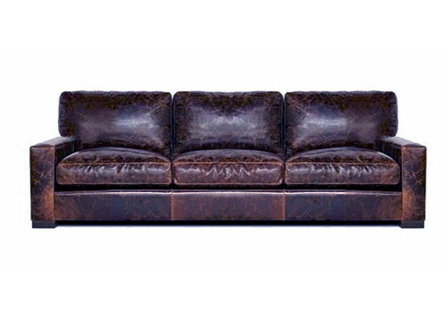 Giselle Maxwell Leather Standard Sofa 25 Off Sale