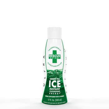 Ice Rescue Green Tea 17oz