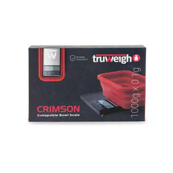 Truweigh Crimson Scale Collapsible Bowl 1000G X 0.1G