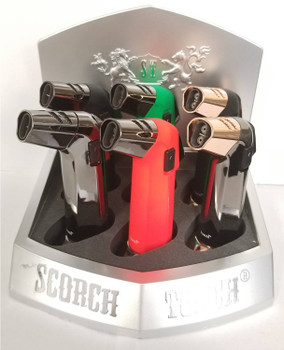 "5.25"" Scorch Torch - Display of  6"