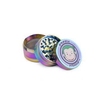 Green Monkey Rainbow Grinder 50mm