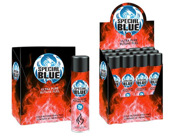 Special Blue Butane 7x 300ml 12ct - $2.25 each