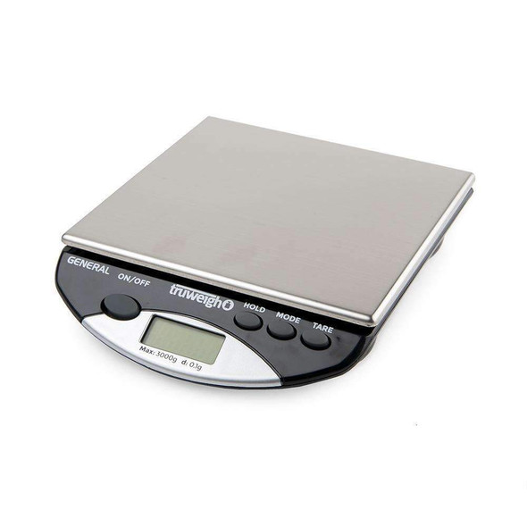 Truweigh General Compact Bench Scale 3000G X 0.1G
