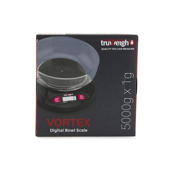 Truweigh Vortex Digital Bowl Scale - 5000g x 1g
