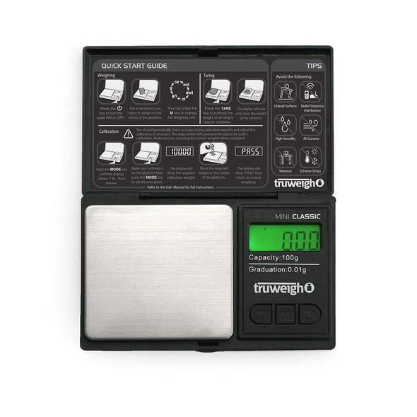 Truweigh Mini Classic Scale - 100g x 0.01g