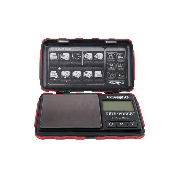 Truweigh Tuff-Weigh 100G X 0.01G - Black & Red