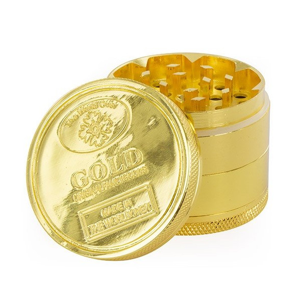 "Gold Coin Grinder Medium - 2"" 3 Part"