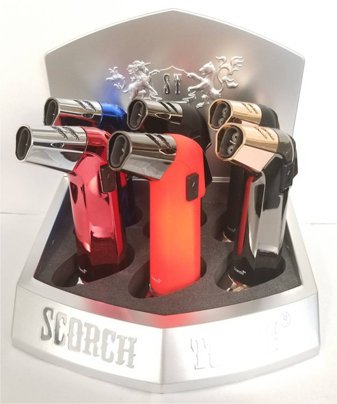 """Scorch Torch Display 5.25"""" - Display of  6"""