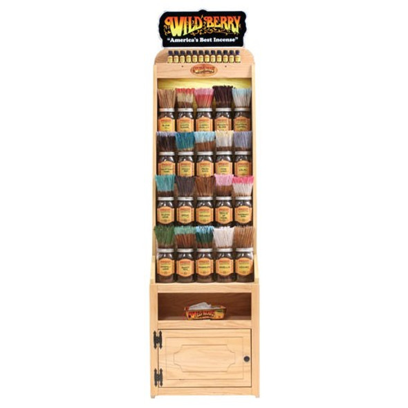 Wild Berry Incense Small End Cap Display