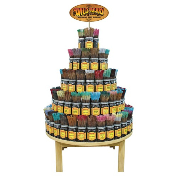 Wild Berry Incense 90 Fragrance Round Display