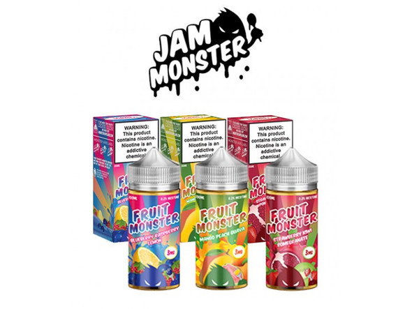 Jam Monster Fruit Monster 100ml