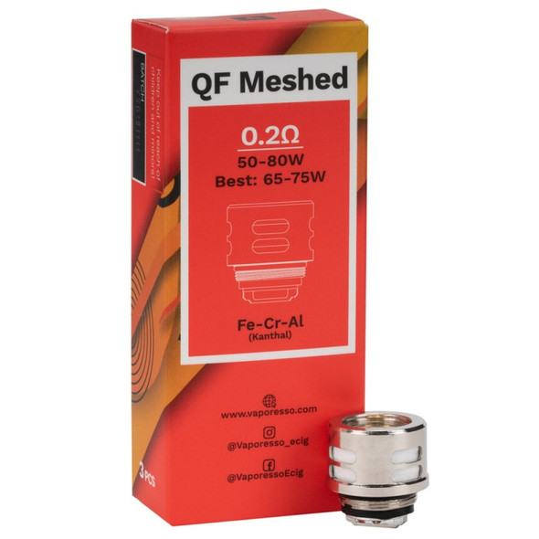 Vaporesso QF Meshed Coil 0.2ohm