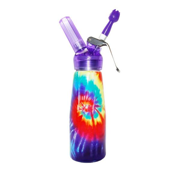 Special Blue Whip Cream Dispenser - 1 Pint - Groovy Tie Dye