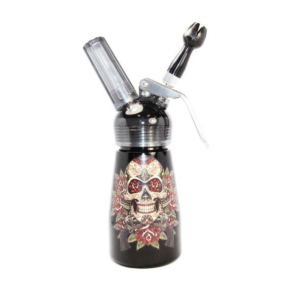 Special Blue Whip Cream Dispenser - 1/2 Pint - Skull & Pistols