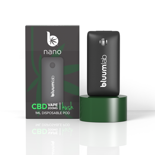 Bluum Labs Nano CBD Disposables with Salt Nic 200mg