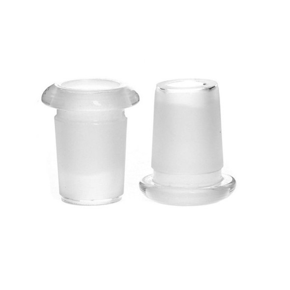 18mm Male to 14mm Female Short Glass Adapter