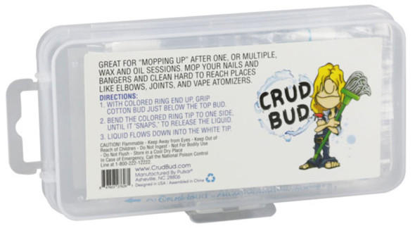 Crud Bud Alcohol Filled Cotton Buds