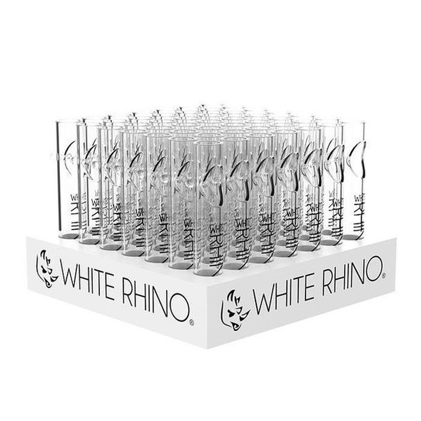 White Rhino Steam Roller Display - 49 Count