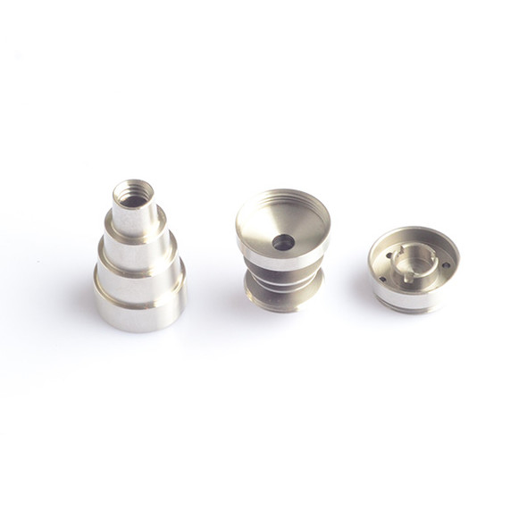 6 in 1 Domeless Nail with Cup Head - Pure Titanium