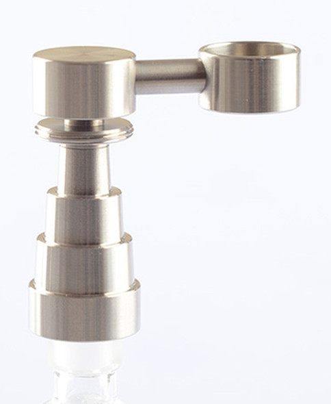 6 in 1 Domeless Nail with Side Arm - Titanium