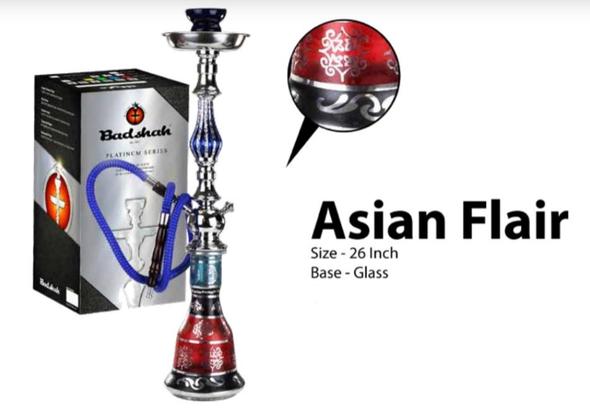 Badshah Asian Flair Hookah - 2 Hose