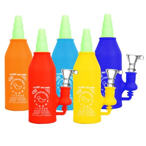 Silicone Chili Bottle Water Pipe