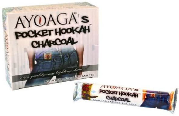 Ayoaga Pocket Hookah Charcoal 22mm