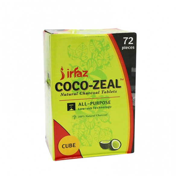 Coco Zeal Cubes 72 Count