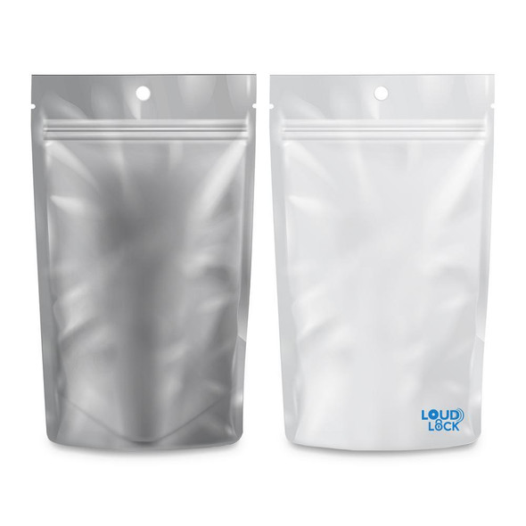 Loud Lock Mylar Bags 100 Count - 1/4oz
