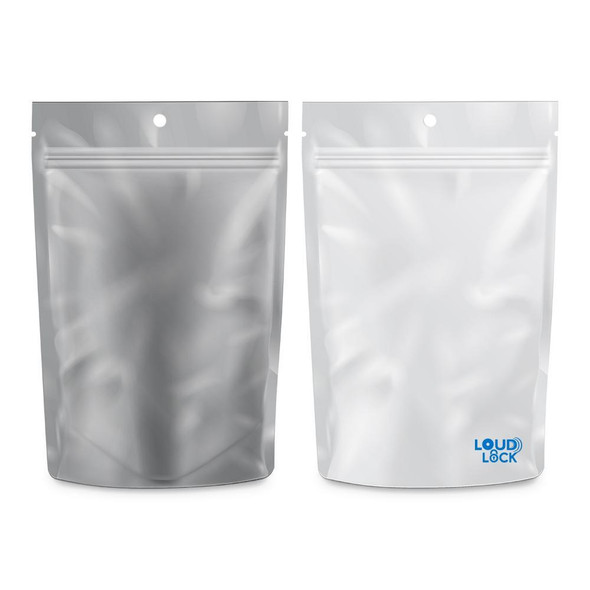 Loud Lock Mylar Bags 100 Count - 1/2oz