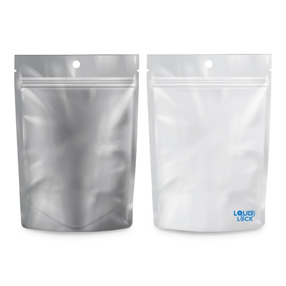 Loud Lock Mylar Bags 100 Count - 1/8oz