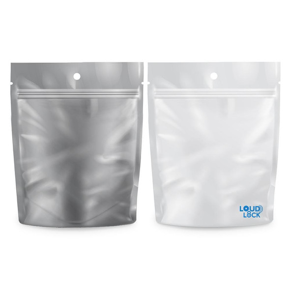 Loud Lock Mylar Bags 100 Count - 1 Gram