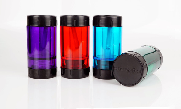 ICON Smoke 3 in 1 - Container, Mini Grinder, Pipe